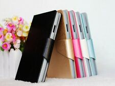 Silk Veins PU Leather Flip Stand Wallet Case Cover For NOKIA Lumia 900