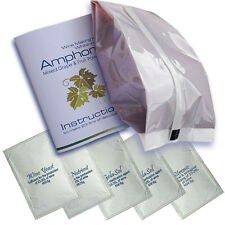 Wine Making Kit AMPHORA 23L of wine in 10 Days Mixed Grape & Dried Fruits powder