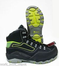Rocky Waterproof Composite Toe EH Work & Safety Boots, Black Leather RKYK103