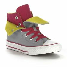 New Converse All Star Two-Fold High-Top Sneakers Girls Canvas Shoes 12 13 1 2 3