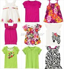 NWT Gymboree Wild for Zebra Tee Top 3 4 5 6 7 8 9 10 12