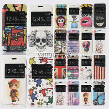 S View Window Flip Leather Stand Cover Case For Samsung Galaxy S5 mini