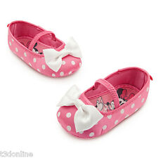 Authentic Disney Minnie Mouse Baby Girl Shoes Pink- Baby Gift New