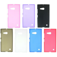 New Soft Gel TPU Silicon Back Skin Cover Case For Nokia Lumia 730 735 Elegant