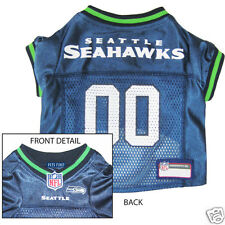 Seattle Seahawks NFL Officially Licensed DOG JERSEY football shirt clothes
