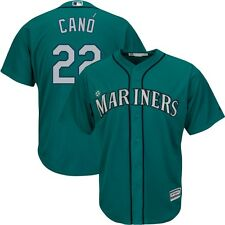 2015 Robinson Cano Seattle Mariners Alternate Teal Green Cool Base Jersey Men's