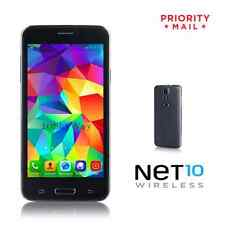 "(Net 10) Phones 4.5"" IPS Unlocked GSM Android Smartphone 4GB GPS Bluetooth - NEW"