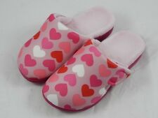 Orthaheel Gemma Pink Heart Slippers PREOWNED