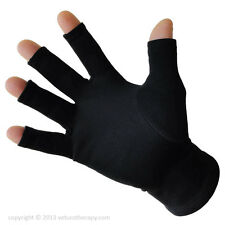 Arthritis Therapy Gloves,Far Infrared Gloves for Hand Pain Relief,Open Fingertip