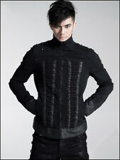 Coat Jacket Vest Black Gothic Punk Rave Manteau Veste Noir Dark Gothique