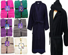 100% egyptian cotton bath robe womens mensTerry Towelling Dressing Gown sm l/xl