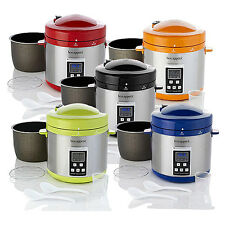 Bon Appetit 7 QT Pressure Cooker BAPCR010 - Multiple Colors