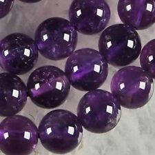 AAA+++ 10mm,8mm,6mm Natural Russican Amethyst Gemstones Round Loose Beads 15''