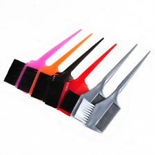 Professional Salon Hair Tint Color Highlighting Dye Comb Brush Hairdressing Tool