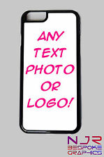 iPhone 6 Personalised Hard Back Case **ADD YOUR TEXT, PHOTO OR LOGO**