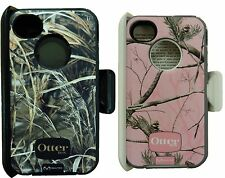 Otterbox Defender Case With Belt Clip For Iphone 4s Camo! -NEW -