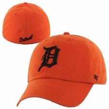 '47 Brand Detroit Tigers Club Logo Franchise Fitted Hat - Orange