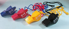 Football Referee Lifeguard Coach Umpire Official Fox 40 Classic Whistle Lanyard