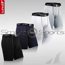 ATHLETE BX BASIC Mens Baselayer Lightweight Compression Shorts Sports Tights