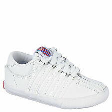 K-SWISS Classic Infant - Toddlers Low White Sneakers New In Box