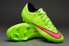NIKE MERCURIAL VICTORY V FG FIRM GROUND SOCCER CR7 SHOE FOOTBALL Electric Green