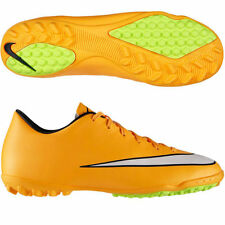 NIKE MERCURIAL VICTORY V TF INDOOR SOCCER TURF FUTSAL CR7 SHOE Laser Orange