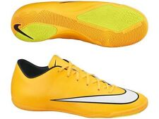 NIKE MERCURIAL VICTORY V IC INDOOR SOCCER CR7 SHOES FOOTBALL Laser Orange/Black