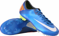 NIKE CR7 MERCURIAL MIRACLE II FG FIRM GROUND SOCCER SHOES PHOTO BLUE USA SIZES.