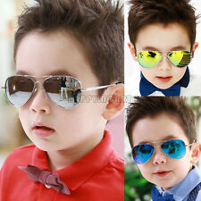 Fashion Gentleman Boy Girl Sunglasses Metal Frame Child Goggles Sun Glasses Cool