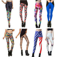 New Sexy Summer Women's Digital Printing Leggings Stretch Skinny Tight Pants