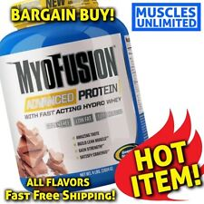 100% Whey Protein Isolate blend 4lb BCAA Myofusion ADVANCED PROTEIN 4 Flavors