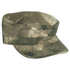 Tactical Army ACU Style Patrol Hat Field Cap Hunting Ripstop MIL-TACS Camo S-XXL