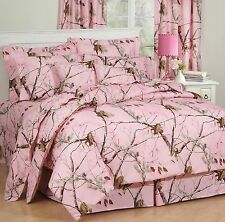 Realtree® AP Pink Camo 9pc Bed in Bag or Comforter Set - Licensed