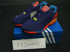 ADIDAS ZX FLUX PURPLE B34491 NEON PACK