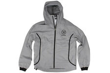 Warrior Windbreaker Full Zip Training Jacket Grey