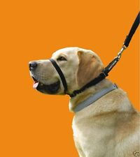 CANNY COLLAR NON PULL DOG HEAD HALTER -TRAINING HARNESS puppy stop dogs pulling