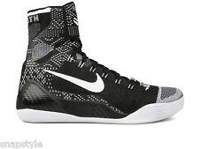 New Men's NIKE Kobe 9 Elite - 704304 010 BHM Black History Month Black White