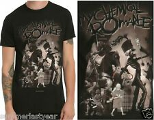 "MY CHEMICAL ROMANCE ""THE BLACK PARADE"" ~ADULTS T-SHIRT~ FREE SHIPPING"