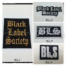 BLACK LABEL SOCIETY Sew Iron On Patch Embroidered Rock Band Music Heavy Metal