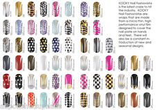 KOOKY NAIL WRAPS 1 x Pack Select from the Drop Down, Half Price Sale Ltd Time