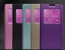 New Modas Open View Window Flip Case Cover For HTC one M9  (5 colors)