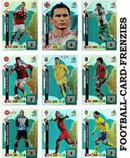 PANINI ADRENALYN XL EURO 2012 LIMITED EDITION CARDS