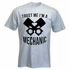 Men's T-Shirt Trust Me I'm A Mechanic Grease Monkey Car Funny Comedy Gift