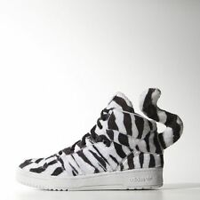 New adidas Originals JEREMY SCOTT White Tiger Shoes wings leopard B26037 panda