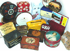 COLLECTABLE VINTAGE TINS and OTHERS - click on the site to chose and order