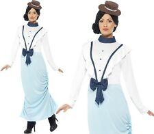 Ladies Posh Victorian Lady Fancy Dress Costume Womens Outfit New by Smiffys