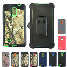 Generic Defender / Camo Built in Screen Impact Case For Samsung Galaxy Note 4