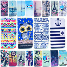 For iphone 6 Plus 5/5S 4/4S Vogue Design Magnetic Card Wallet Leather Case Cover