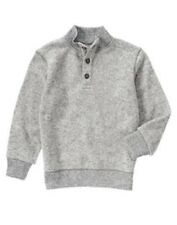 GYMBOREE S'MORE STYLE GRAY SWEATER FLEECE PULLOVER JACKET 4 5 6 7 8 10 12 NWT