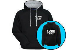 Your Text Personalised Workwear Premium Unisex Hoodie (6 Colours)